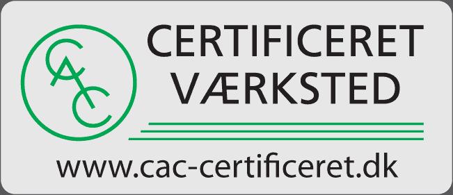 CAC Certificeret Værksted